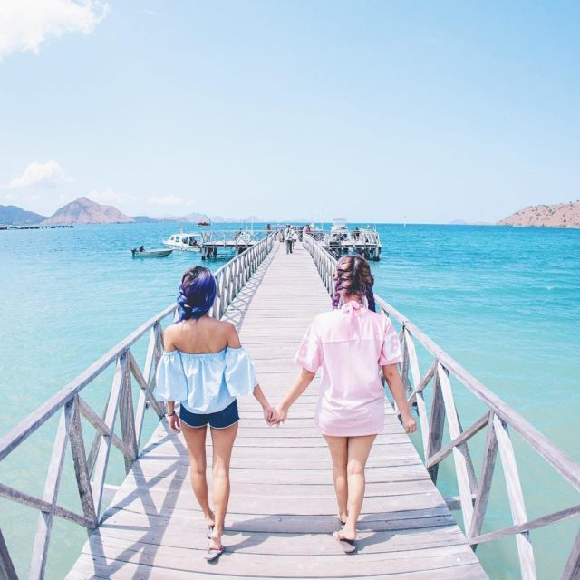 Everywhere is so picturesque at Labuan Bajo! Visited the sleepyhellip