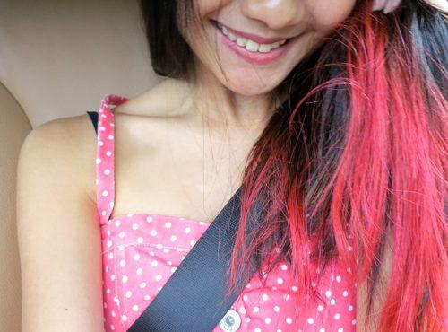 dip dye hair - 2