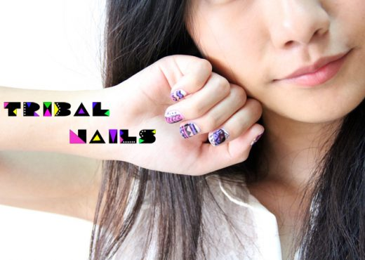Tribal nails banner