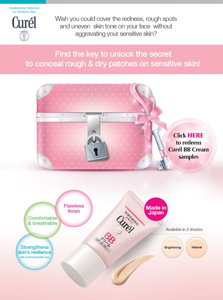 Curel Free Sample BB Cream