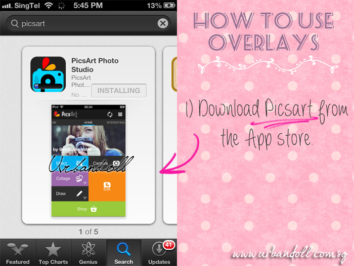 How to use overlays | Where to find overlays