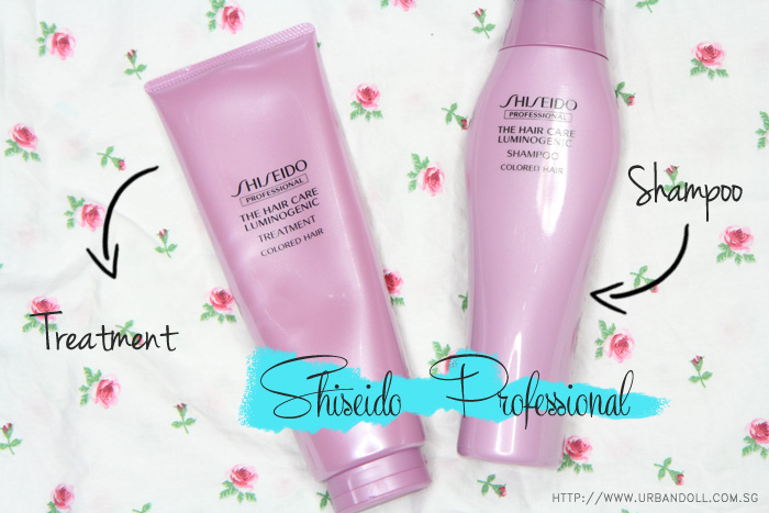 Shiseido The hair care