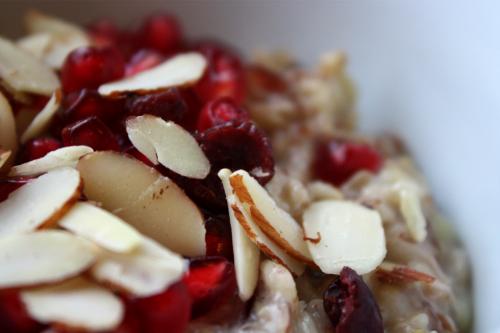 oatmeal almond