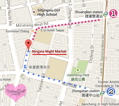 How to go to ningxia night market