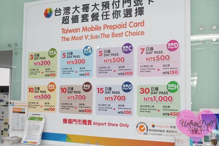 Taiwan-3G Card