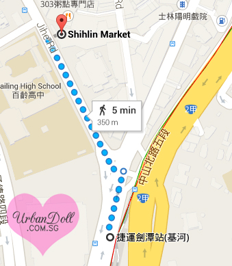 how to go to shilin night market