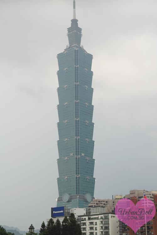 Taipei - Sun Yat Sen Memorial Hall Taipei 101