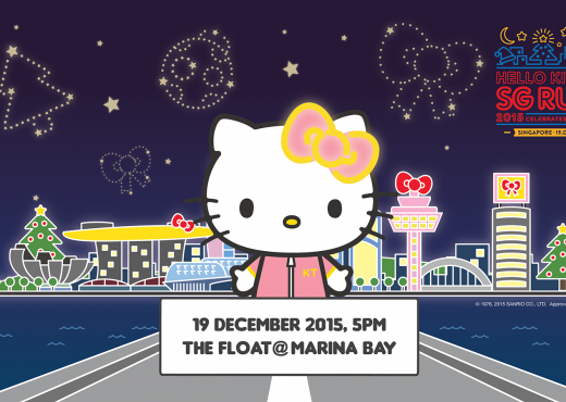 Hello Kitty Run 2015 Singapore Marina Bay