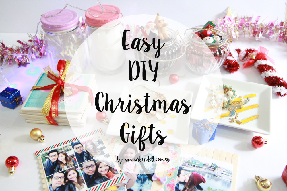 Easy DIY Christmas Gifts - Banner