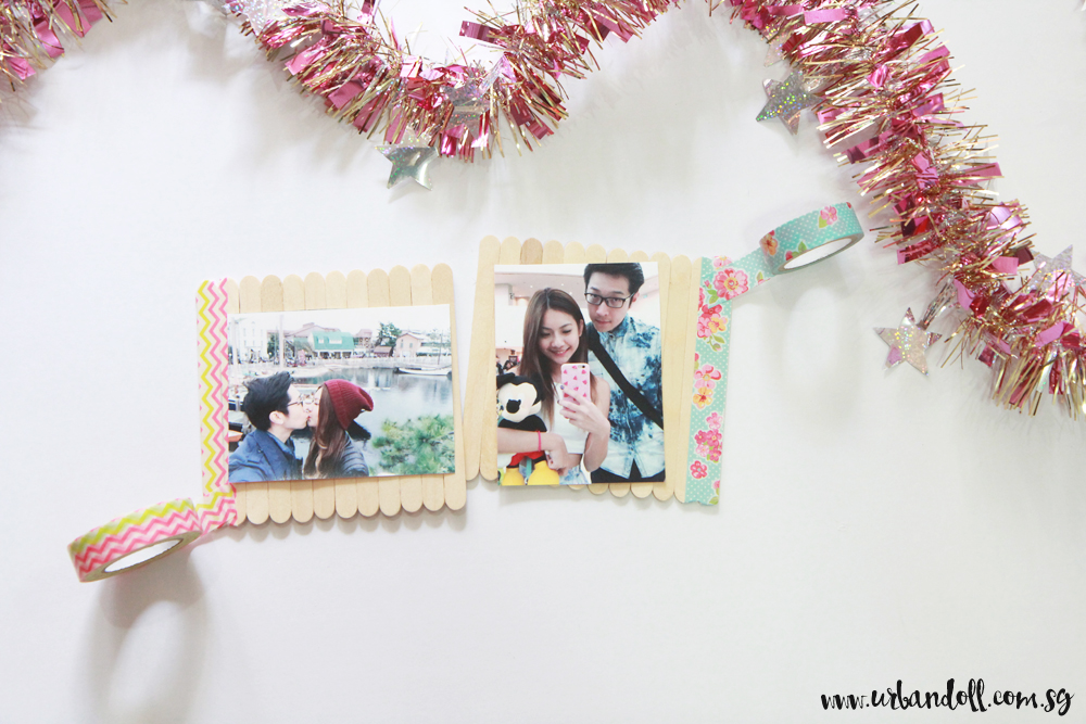 Washi Tape Photo Frame - 2