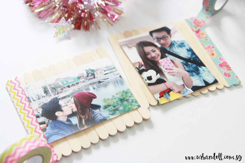 Washi Tape Photo Frame - 3