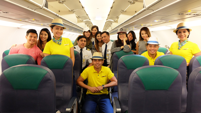Davao itinerary x cebupacificair x nuffnangsg giveaway for Spa uniform in the philippines