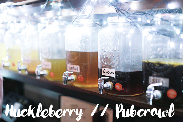 Pub Crawl - Huckleberry 1