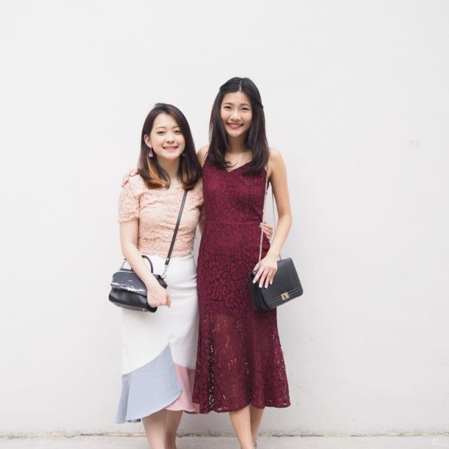 How can we forget a sisters ootd on CNY?