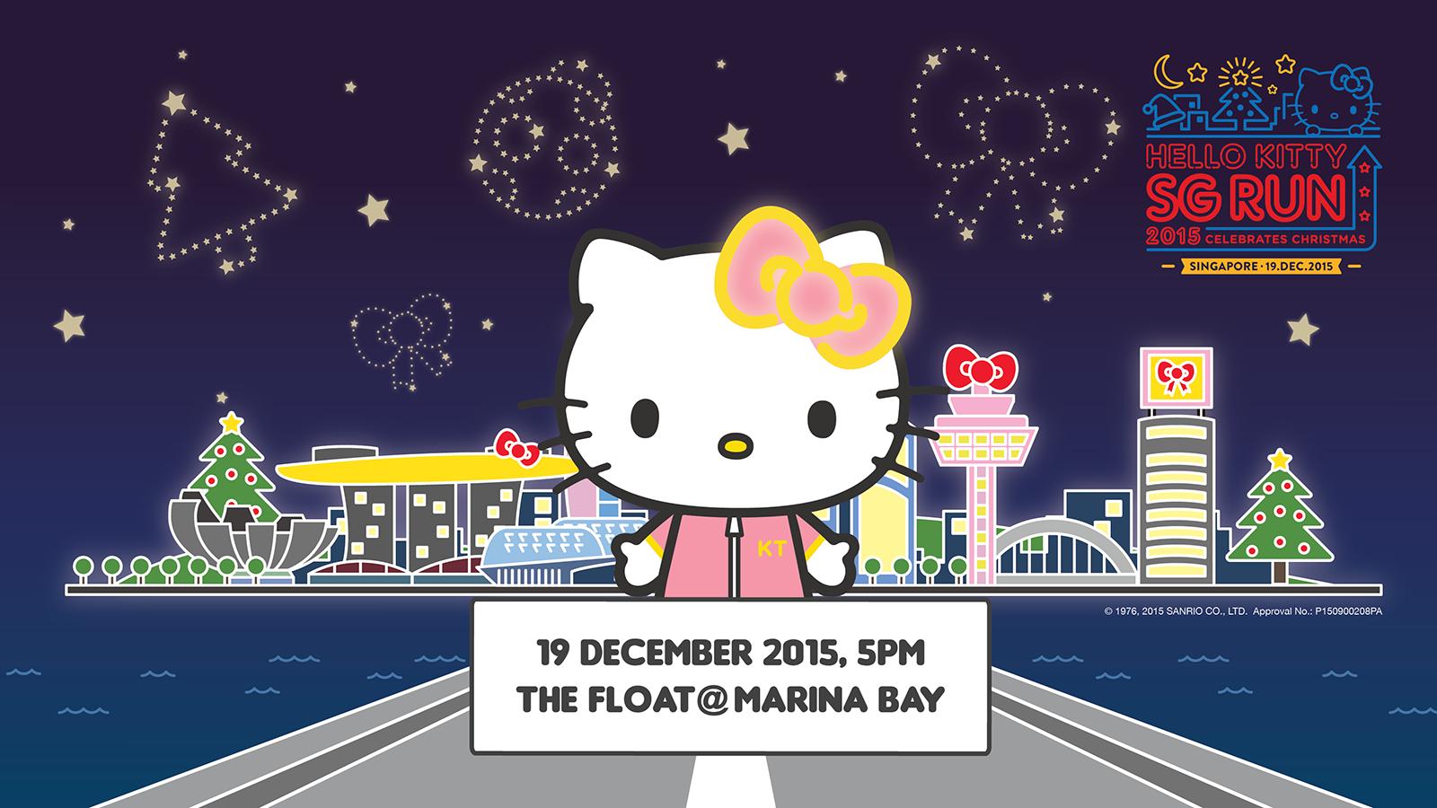 Hello Kitty Run 2015 Singapore Marina Bay
